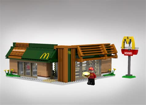 Lego Mac Donal lego ideas mcdonald s