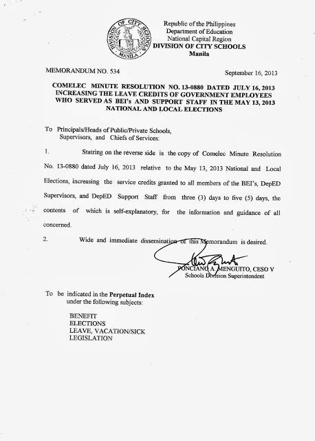 payroll section department of education department of education manila division memorandum no
