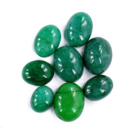 buy 76 ct precious oval cabochon shape emerald gemstone