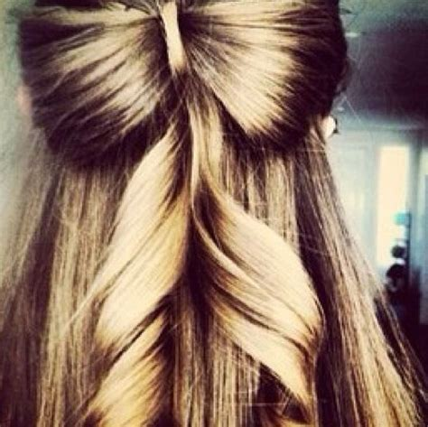 hairstyles for prom half up half down bow half up half down hair style with a hair made bow hair