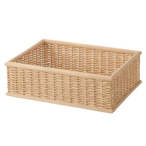 muji baskets stackable buri basket rectangular s w37 d26 h12cm muji