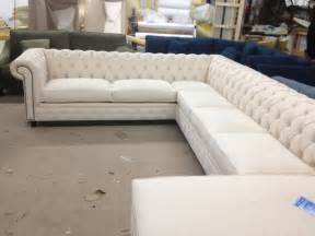 Traditional Sectional Sofa Kenzie Style Aka Nellie Chesterfield Sofa Or Sectional Traditional Sectional Sofas