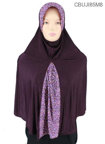 Bergo Serut Kombinasi Motif Jilbab Instan Murah jilbab bergo kombinasi ploi seruni kecil jilbab pashmina murah batikunik