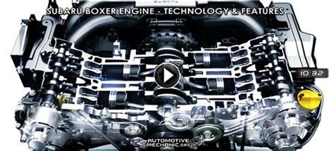 video  subaru boxer engine work technology features advantages auto mechanic
