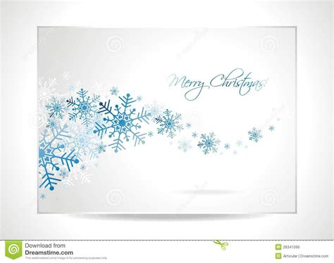 vector christmas greeting card illustration royalty free