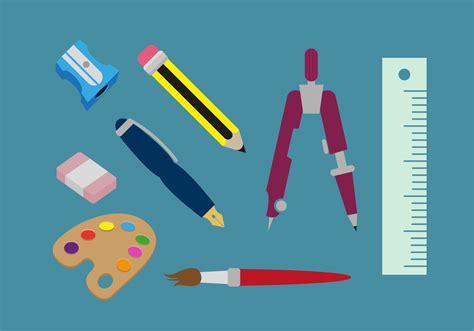 free sketching tool drawing tools illustrations vector free vector