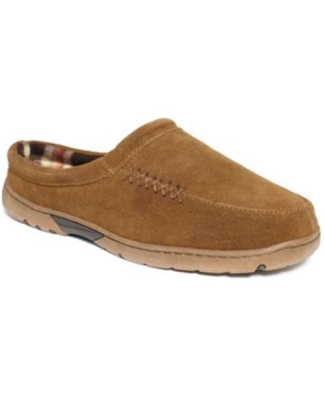 rockport house slippers rockport men s lined moccasin slippers shoes men macy s