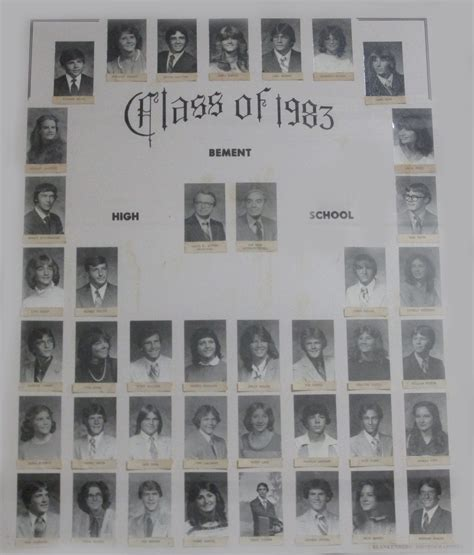 bement cusd 5 class pictures from the 1980 s