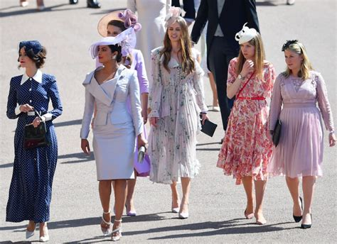 Best Dressed At The Royal Wedding 2018