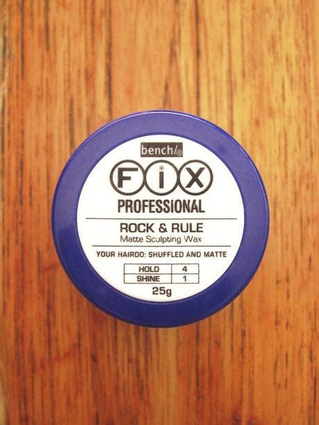 bench hair wax bench rock and rule matte sculpting wax smooth shuffle