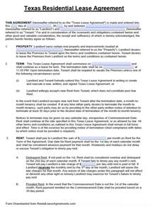 Template Residential Lease Agreement by Free Standard Residential Lease Agreement Template