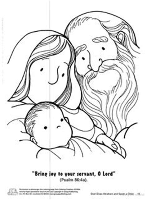 coloring page of baby isaac 1000 images about children s church on pinterest