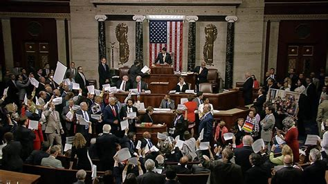 Spirit Of History House Democrats Hold Sit In On Gun Control Nbc News
