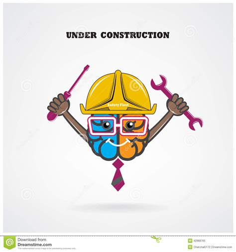 creative construction and design creative left and right brain sign construction with