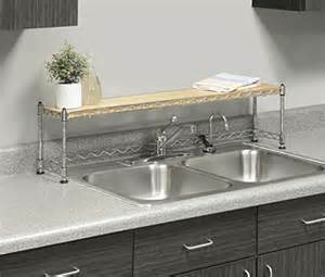 Kitchen Sink Shelf Whitmor 6066 930 Supreme The Sink Shelf Ebay