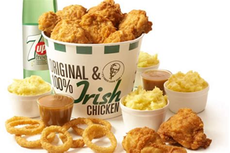 Kfc S Day Special Kfc Launches Special O Sanders Feast For Paddy S Day
