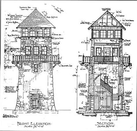 observation tower plans stone tower wayah bald observation tower north carolina