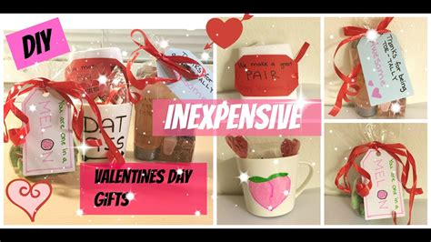 diy valentine gifts for friends diy inexpensive valentines day gifts to boyfriend