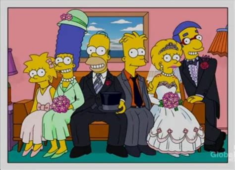 le mariage the simpsons