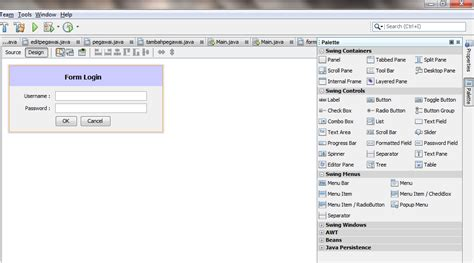 membuat form login java belajar bersama membuat menu form login sederhana di java