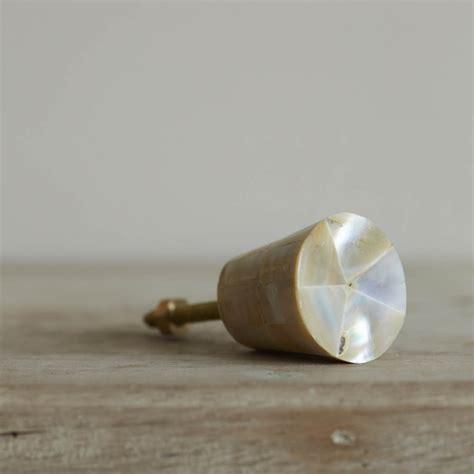 of pearl conical door knob door knobs handles