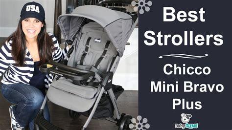 mini chicco chicco mini bravo plus stroller review