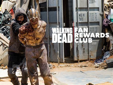 the walking dead fan rewards the walking dead exclusives amc