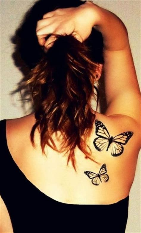 butterfly tattoo on girl s shoulder simple things about butterfly tattoos designs