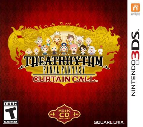 friends final curtain call theatrhythm final fantasy curtain call release date 3ds