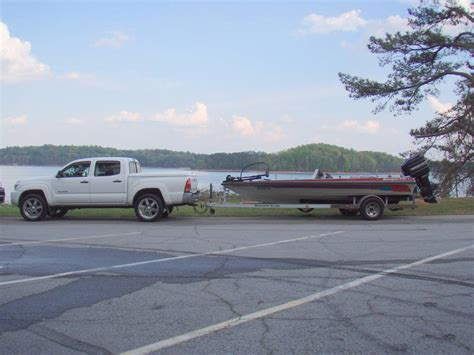 ranger bass boat towing weight trailer tacoma world