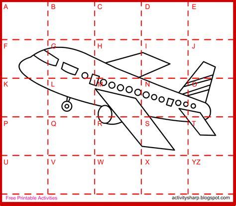 drawing activities free printable drawing activity aeroplane drawing activities