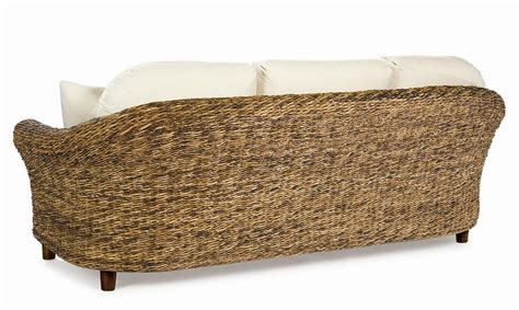 seagrass sofa seagrass sofa tangiers style
