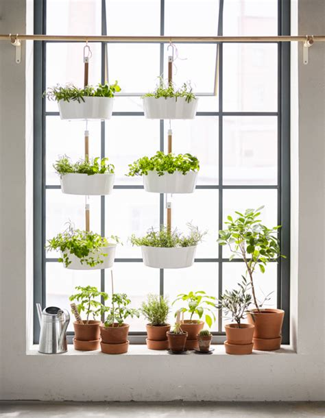 hanging window garden 5 ways to find indoor garden spaces