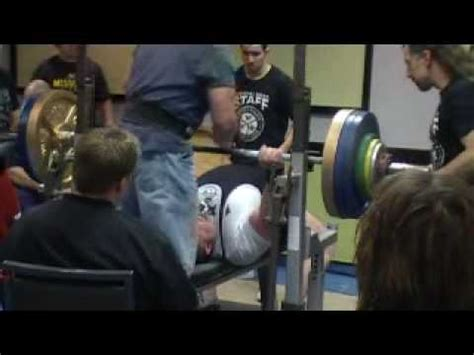 dave taylor bench press dave ridlen s world record 507lbs unequipped bench press