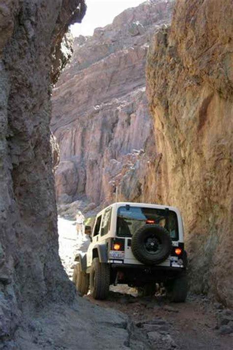 jeep road trails calico run road
