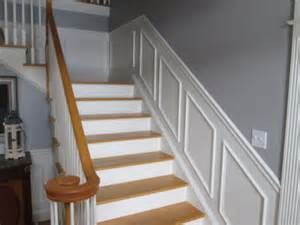 Wainscoting Ideas For Stairs by Stair Wainscoting Traditional Staircase Manchester