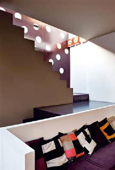 moderne sichtschutzzäune peinture salon couleur aubergine et gris pour une d 233 co