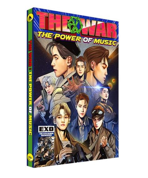 download mp3 exo repackaged album 엑소exo 4th album repackage the war the power of music