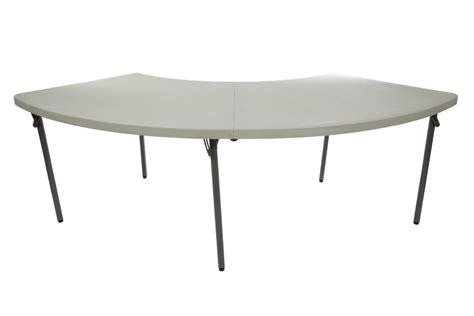 Serpentine Table by Plastic Folding Serpentine Table Set Up Ancaster Rental