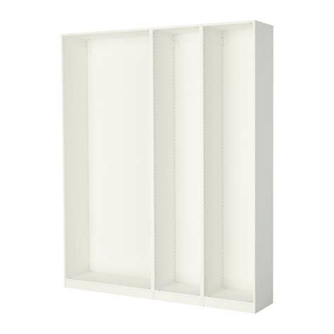 Ikea Bostrak Lemari Pakaian Warna Putih Ukuran 80x50x180 Cm pax 3 rangka lemari pakaian putih ikea