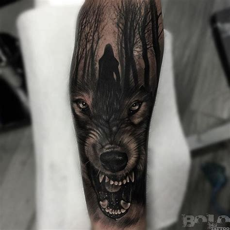 lone wolf tattoos 48 powerful wolf designs tribal traditional