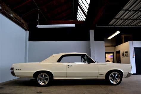 pontiac gto convertible white restomod horsepower hot