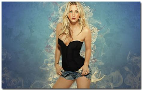 hot images themes kaley cuoco wallpaper theme with 10 backgrounds