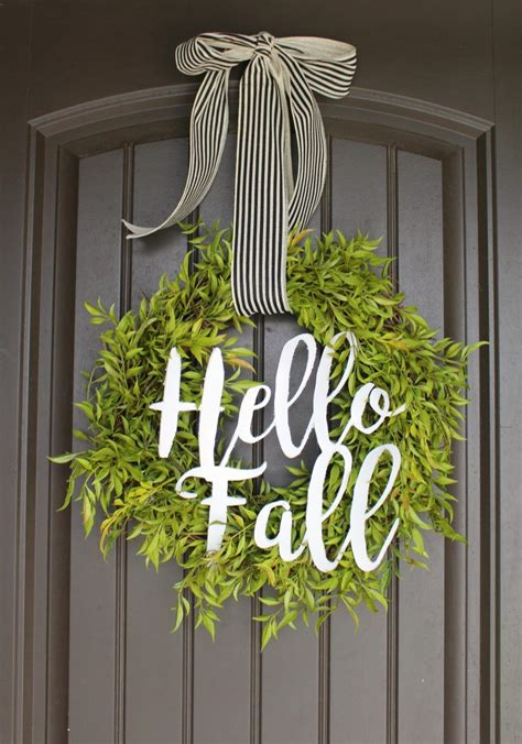 Cheap Wreaths For Front Door How To Make A Pretty Green Wreath For Cheap Wreaths Easy And Craft