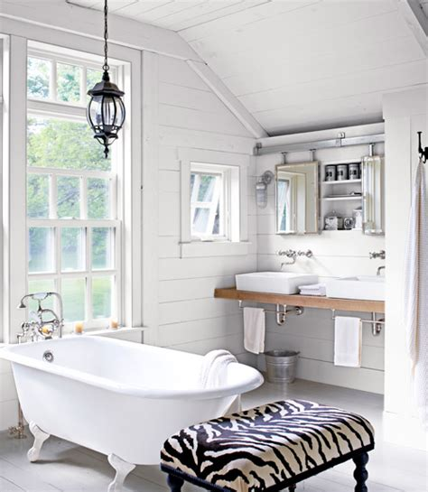 simple country bathroom designs your dream home following her dreams a new york retreat