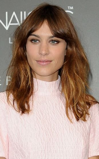 alexa chung hairstyles hairstyles alexa chung long beachy hairstyle