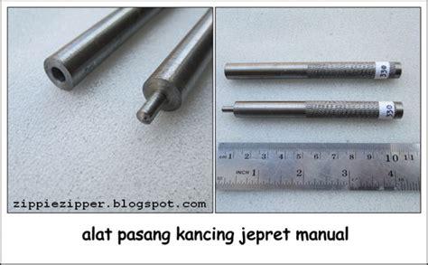 Kancing Jepret fitinline memasang kancing jepret pada jaket