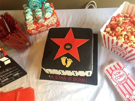 girl themed movies hollywood star cake made by icing cake design for movie