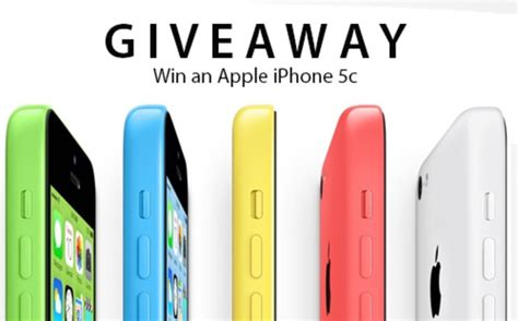 Free Iphone 5c Giveaway 2014 - giveaways hongkiat deals