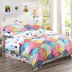 Rainbow Duvet Cover 2015 Organic Cotton Bedding Sets Cotton Rainbow Printed